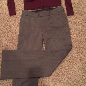 Fully lined Banana Republic petite trousers